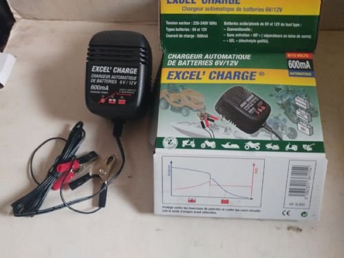 Tecmate EXCEL Charge 600 6v/12v 600Ma Battery Charger